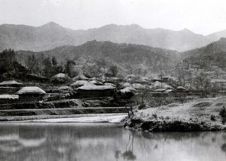 전북 고창군 부안면 봉암리 인촌부락전경