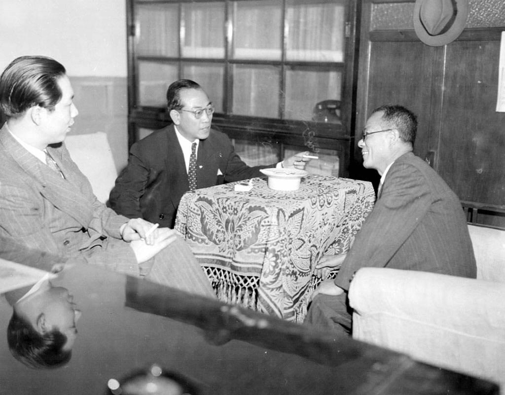 성수 부통령, 대만대사 접견