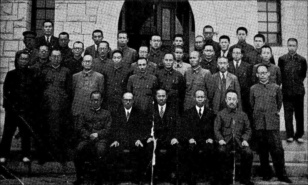 1943년 개교 38주년 맞은 보성전문학교 주역들