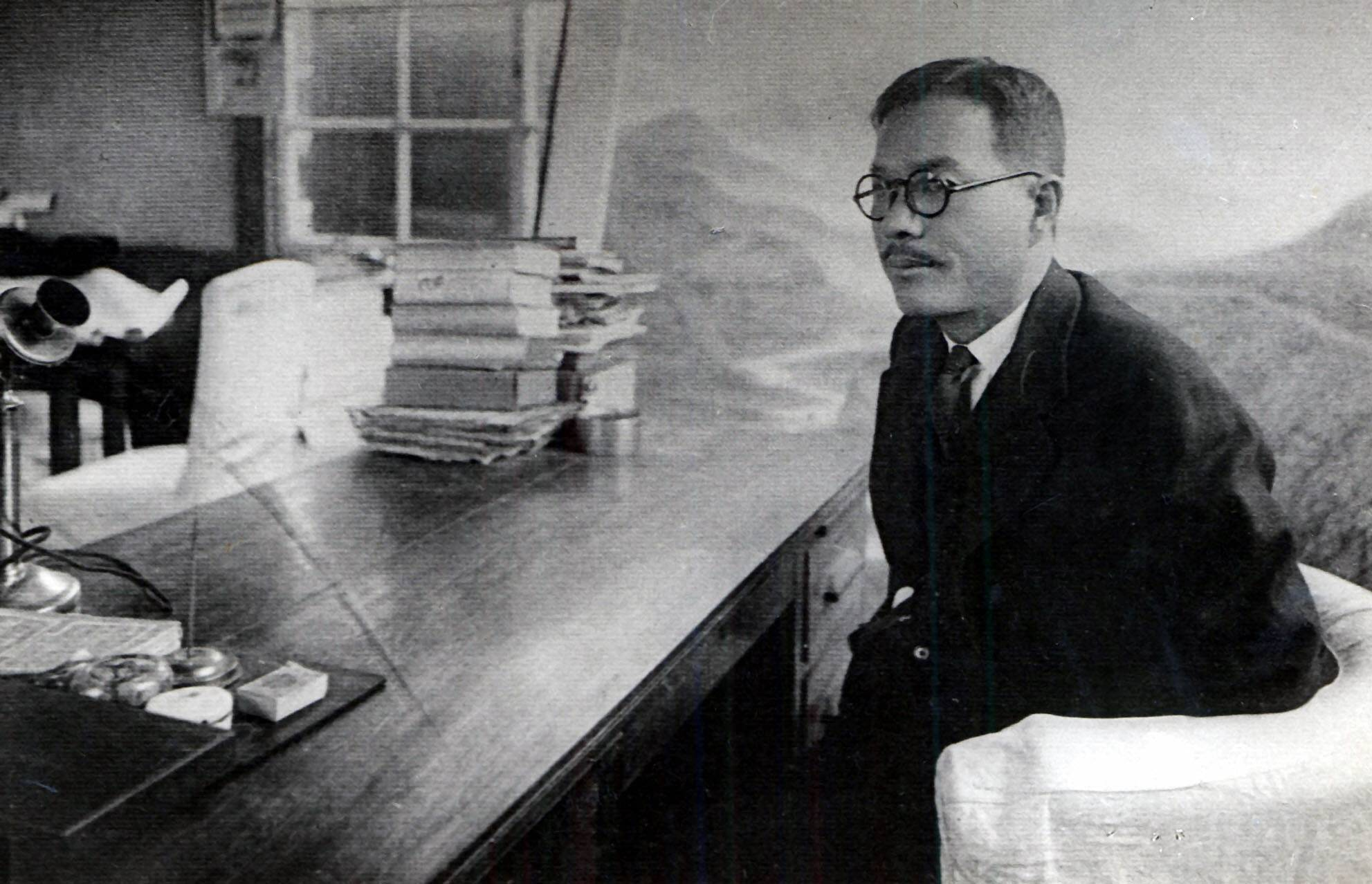 인촌의 보성전문학교  교장 시절