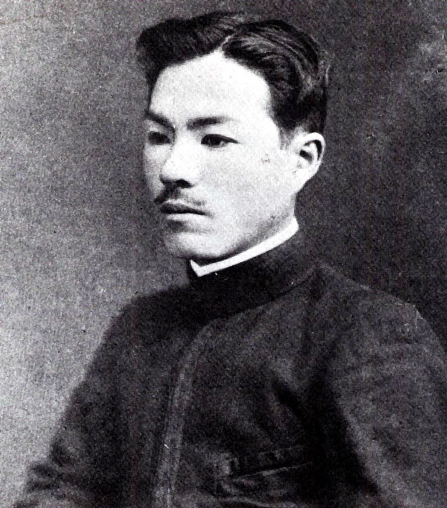 중앙학교 교장시절(1917년)의 인촌
